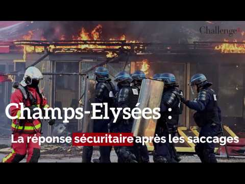 Champs-Elysées: la réponse sécuritaire du gouvernement