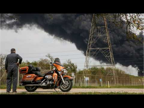 Smoke Seen For Miles From Deer Park, Texas Petrochemical Fire