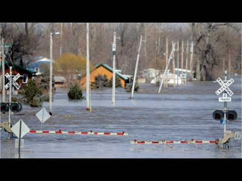 Catastrophic Floods In The U.S. Midwest Cause Widespread Damage