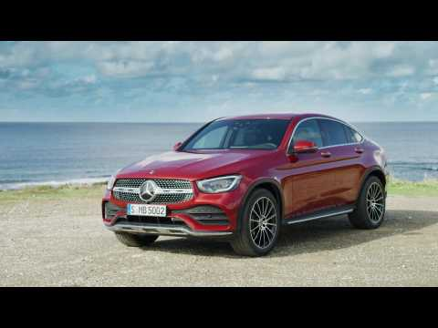 Mercedes-Benz GLC Coupé Design Preview