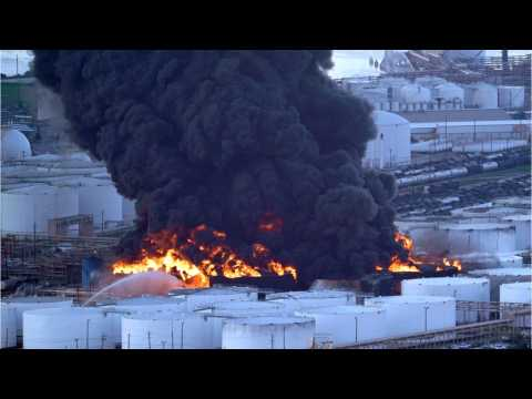 Texas Fire Destroyed 11 Petrochemical Storage Tanks Before Extinguished