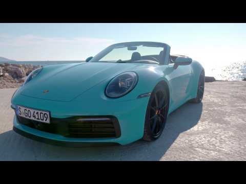 Porsche 911 Carrera S Cabriolet Design in Miami Blue