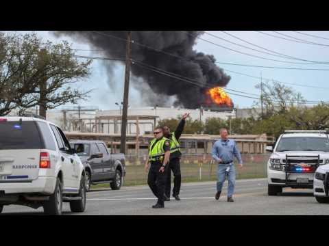 Petrochemical Fire Near Houston Extinguished, Firefighters Continue To Monitor