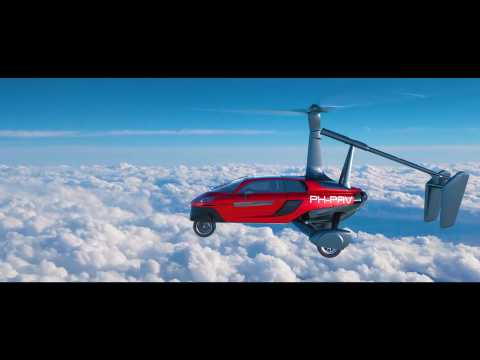 Flying Car PAL-V - Studio & Animation