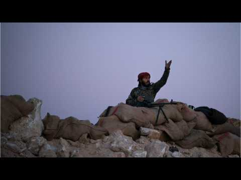 Syria Fighters Claims IS Is Holding Civilians