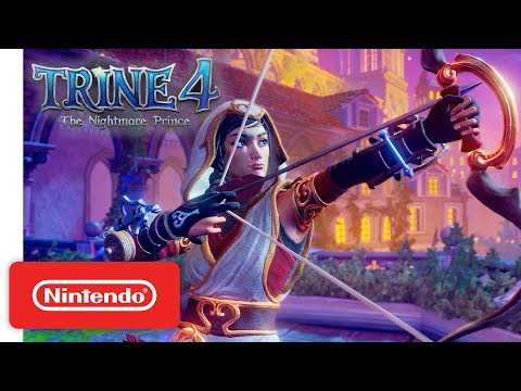 Trine 4: The Nightmare Prince - Announcement Trailer - Nintendo Switch