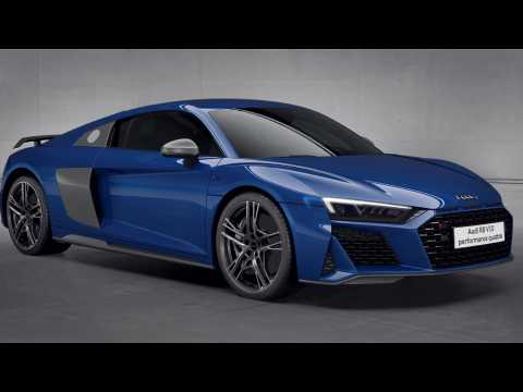 Audi R8 V10 performance quattro drivetrain Animation