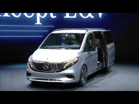 Mercedes-Benz V-Class Premiere at Geneva Motor Show 2019