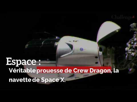 Espace : Véritable prouesse de Crew Dragon, la navette de Space X