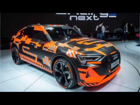 Audi Unveils E-Tron Sportback