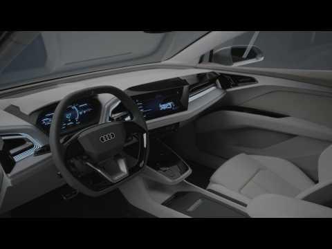 Audi Q4 e-tron concept Interior Design