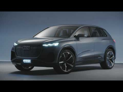 Audi Q4 e-tron concept Light Design