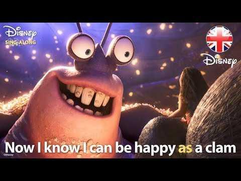 DISNEY SING-ALONGS | Shiny - Moana Lyric Video | Official Disney UK