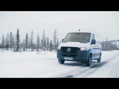 Mercedes-Benz eSprinter Driving Video