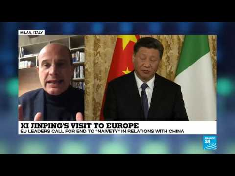 Giuliano Noci: EU leaders call for end to naivety in relations with China.