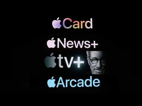 Presse, jeux, séries, films illimités et carte bancaire...Apple met le paquet sur les services