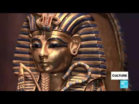 Tutankhamun exposition opened in Paris