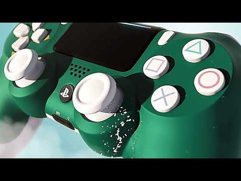New PS4 Controller : Alpine Green DUALSHOCK 4 (2019)