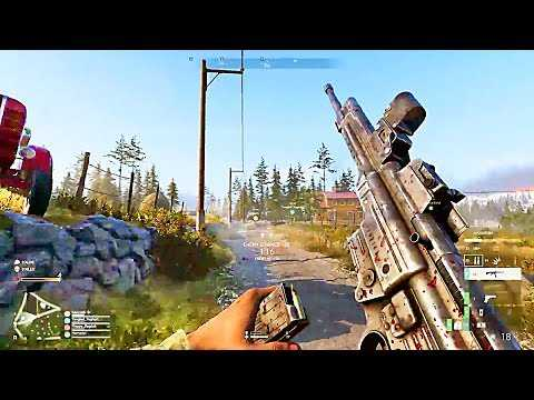 BATTLEFIELD V Firestorm Gameplay Trailer (2019)