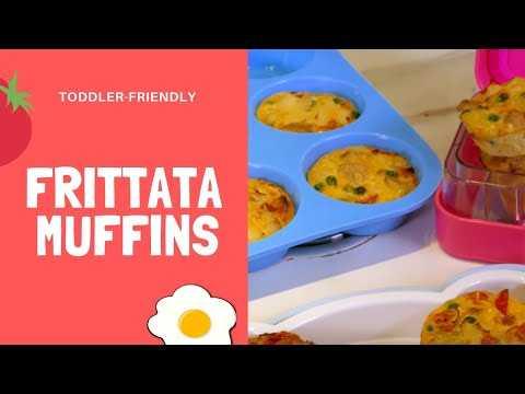 Annabel Karmel's Weaning-Friendly Frittata Muffins!