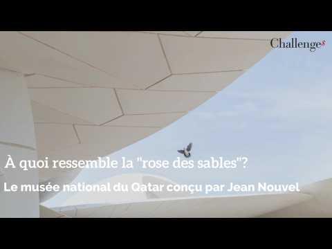 """À quoi ressemble la """"rose des sables"""", le musée national du Qatar conçu par Jean Nouvel?"""