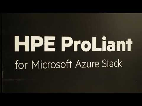 High Availability for HPE ProLiant for Microsoft Azure Stack