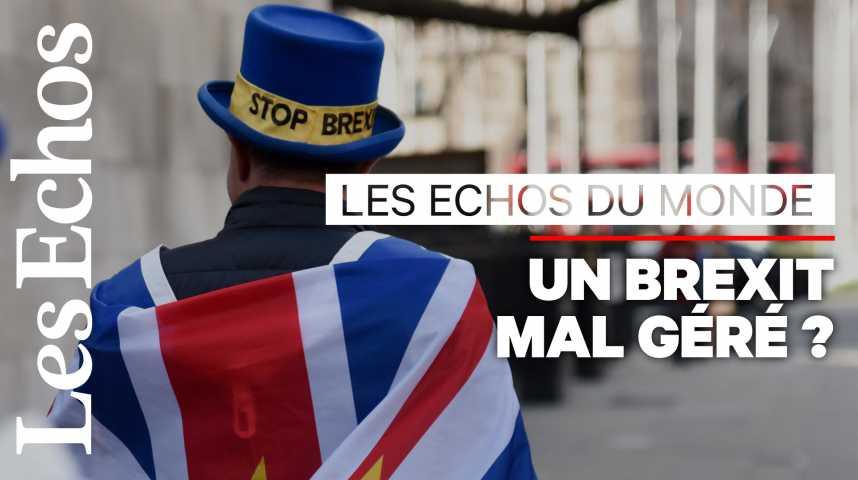 Illustration pour la vidéo Brexit : les Britanniques ont « honte » de leurs dirigeants
