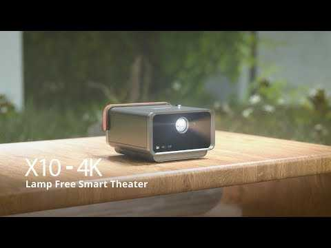 Introducing Lamp Free Smart Theater - ViewSonic X10-4K Short Throw LED Projector