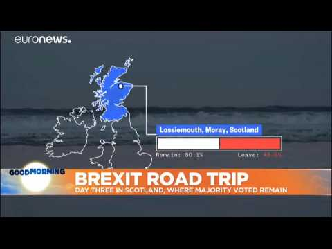 Brexit road trip day 3: Central Scotland and the Highlands