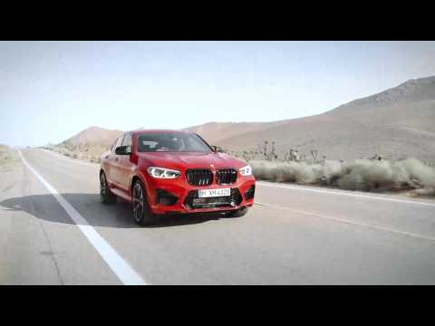 The new BMW X4 M Competition Trailer