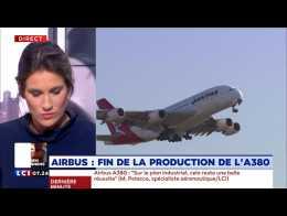 Airbus : fin de la production de l'A380
