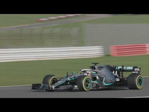 Mercedes-AMG Petronas motorsport's tenth modern-day F1 car hits the track in Silverstone