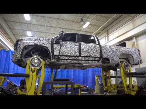 2020 Chevrolet Silverado HD Four Post Durability Testing