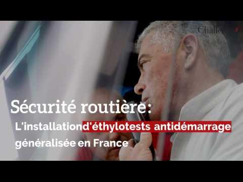 Sécurité routière : L'installation d'éthylotests antidémarrage généralisée en France