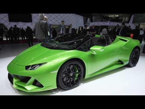 Lamborghini Huracan EVO at the 2019 Geneva Motor Show