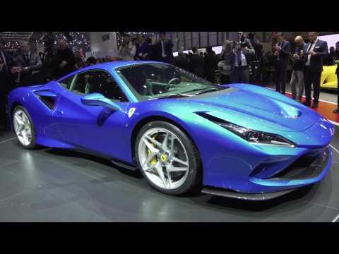 The new Ferrari F8 Tributo at the 2019 Geneva Motor Show