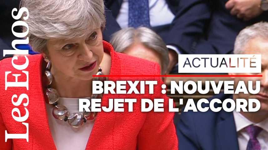 Illustration pour la vidéo Brexit : Theresa May appelle à « des choix auxquels il faut maintenant faire face »