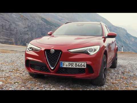 Alfa Romeo Stelvio QV - Test drive with 510 hp at the Stelvio Pass