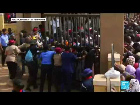 Nigeria election: vote counting underway after polls