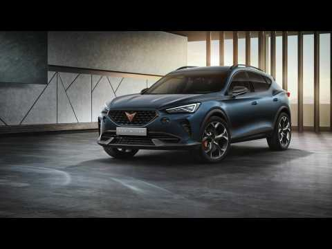 Curtain up for the CUPRA Formentor