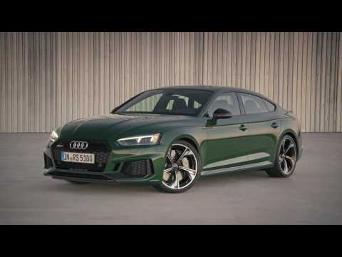 The new Audi RS 5 Sportback Design Preview
