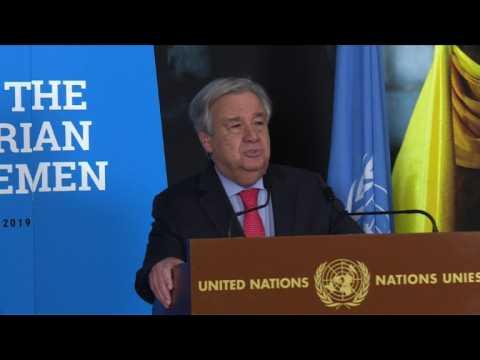 UN Conference on Yemen pledges 2.6 billion dollars of aid