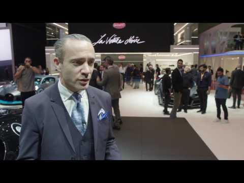 Bugatti at Geneva Motor Show 2019 - Etienne Salome