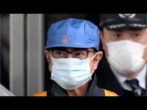 In Cap And Mask, Ghosn Leaves Jail On Bail