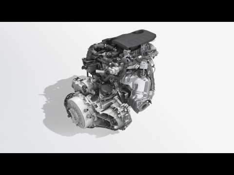 2019 All-new Renault CLIO E-TECH hybrid - multimodal intelligent gearbox