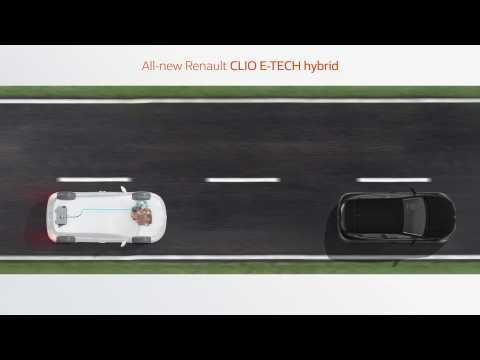 2019 All-new Renault CLIO E-TECH hybrid - efficiency and driving pleasure
