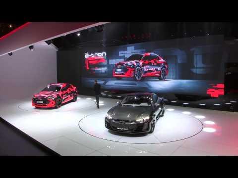 Audi at Geneva International Motor Show Highlights