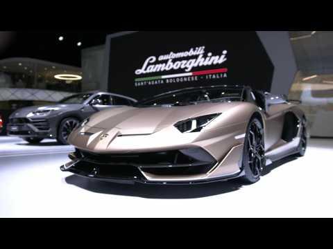 Lamborghini Aventador SVJ Roadster Exteriors Design