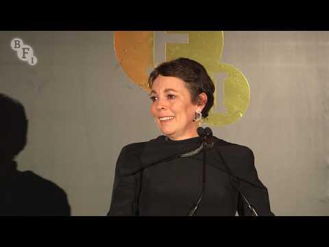 Olivia Colman honoured with BFI Fellowship