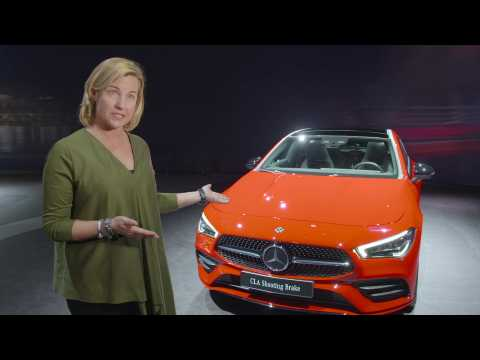 Mercedes-Benz at the Geneva international Motor Show 2019 - Britta Seeger
